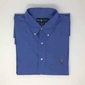 Ralph Lauren Long Sleeve Button Down 17.5-34
